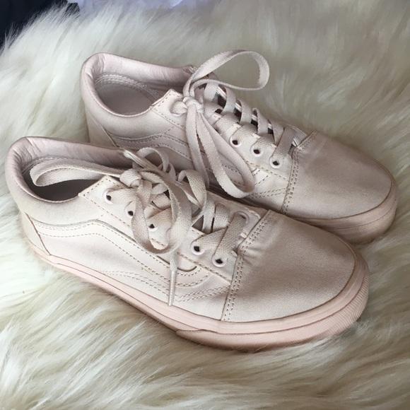 39834832fda3c Vans Shoes | Big Girls Old School In Blush | Poshmark